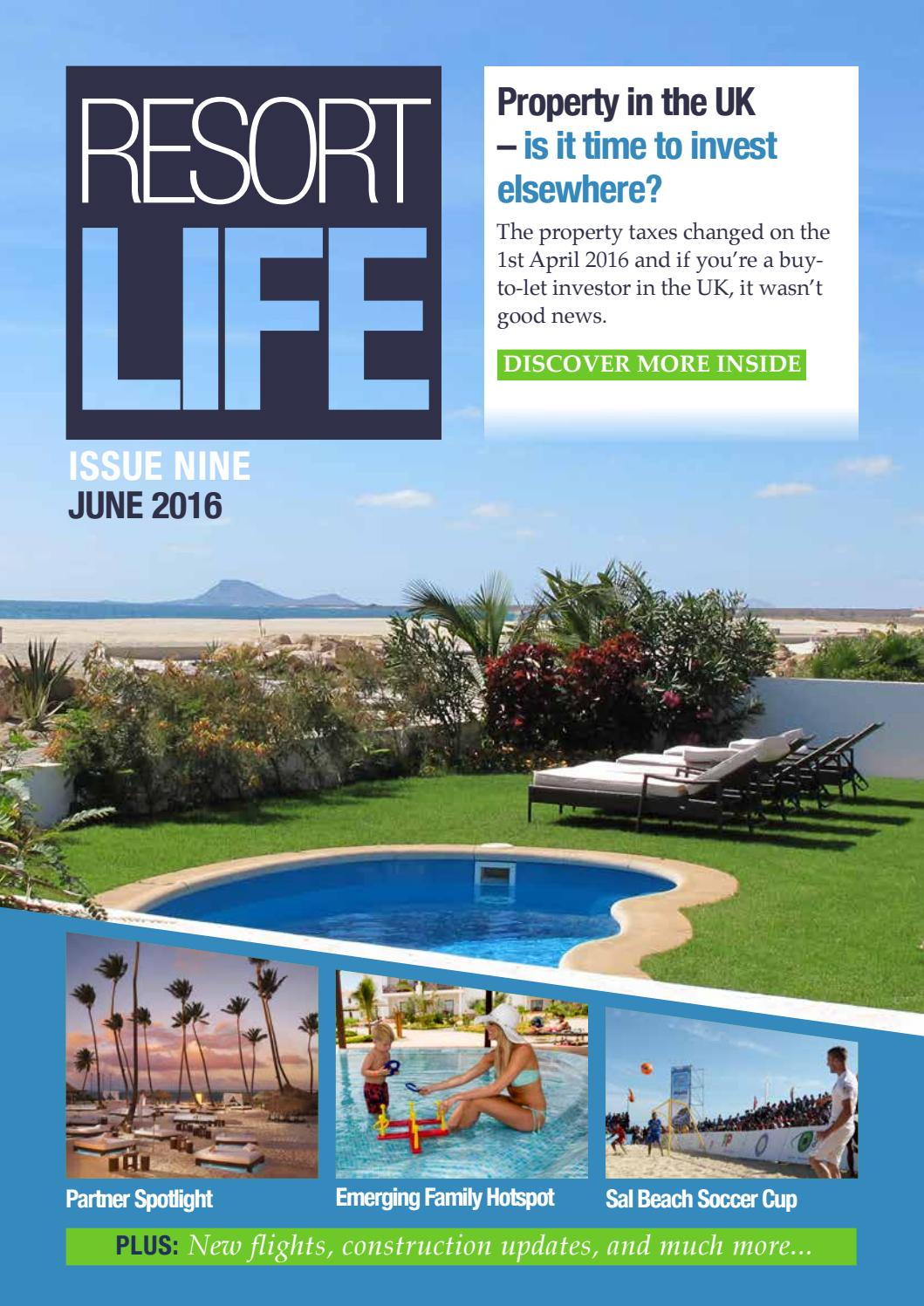 86e3c2ca067 Resort Life - Issue 9 by The Resort Group plc - issuu