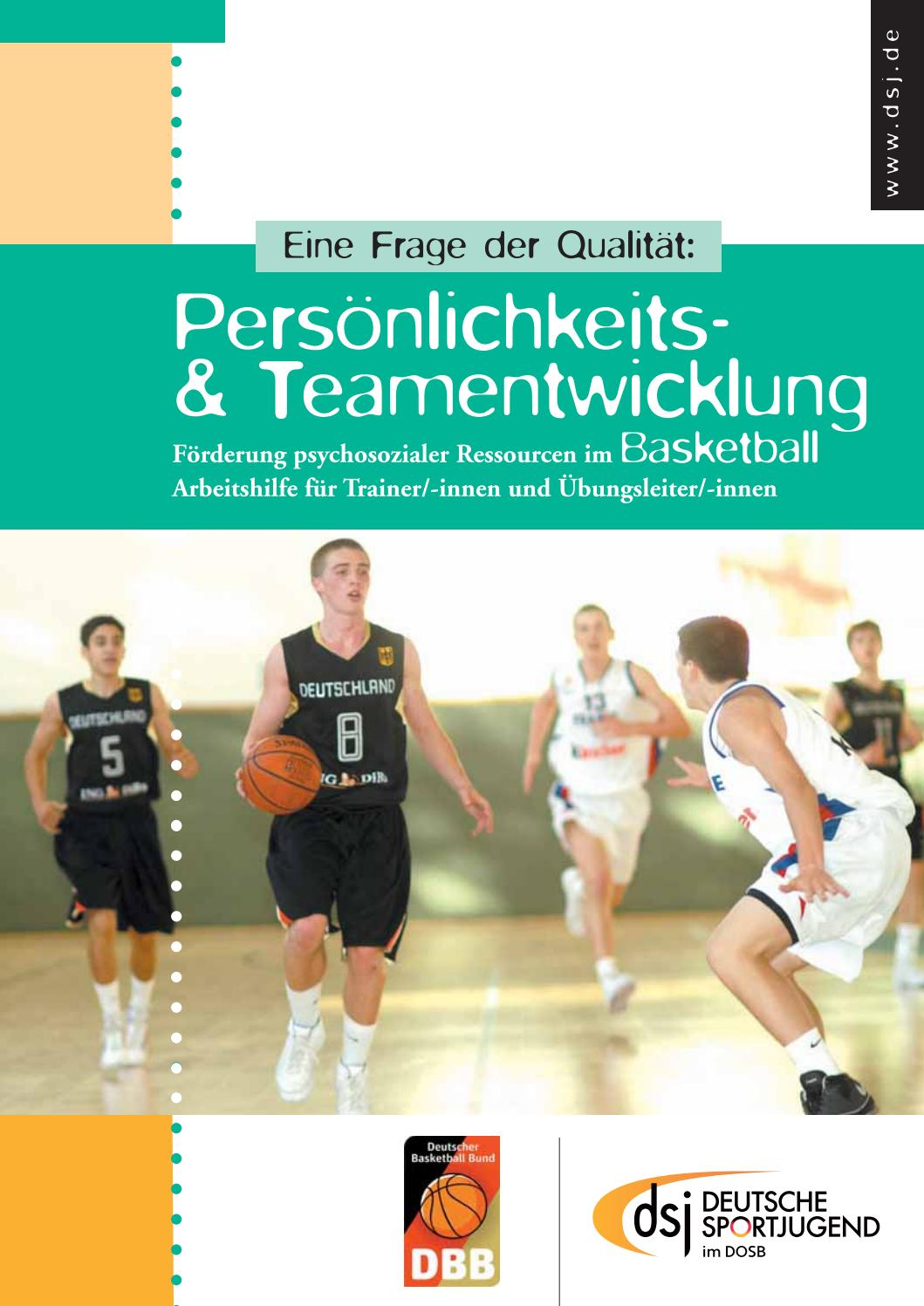 Persönlichkeits- und Teamentwicklung im Basketball by Deutsche ...