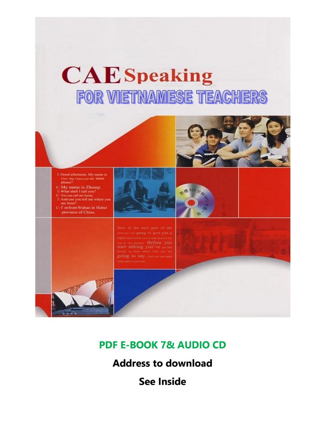 Cae speaking luyen noi anh c1 by ThuVan Bui - issuu