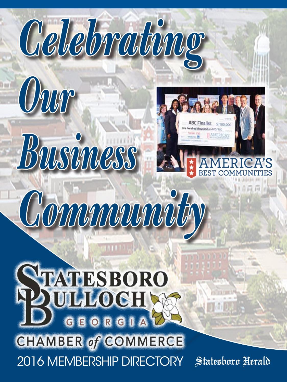 Chamber Of Commerce Directory By Statesboro Herald