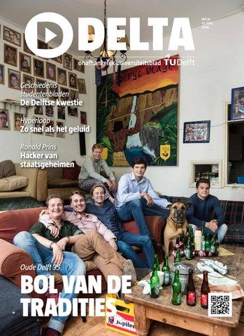 Delta 16 By Delta En Delft Integraal Delft Outlook Issuu