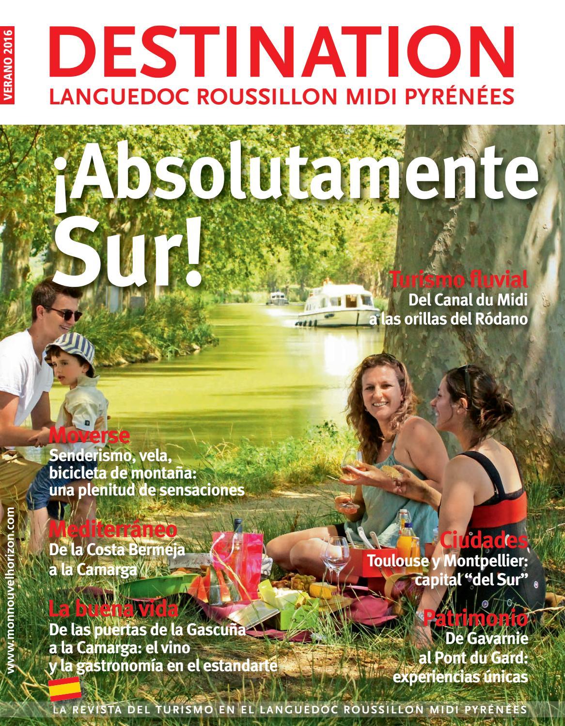 Destination Languedoc Roussillon Midi Pyrénées - Verano 2016 by Sud ...