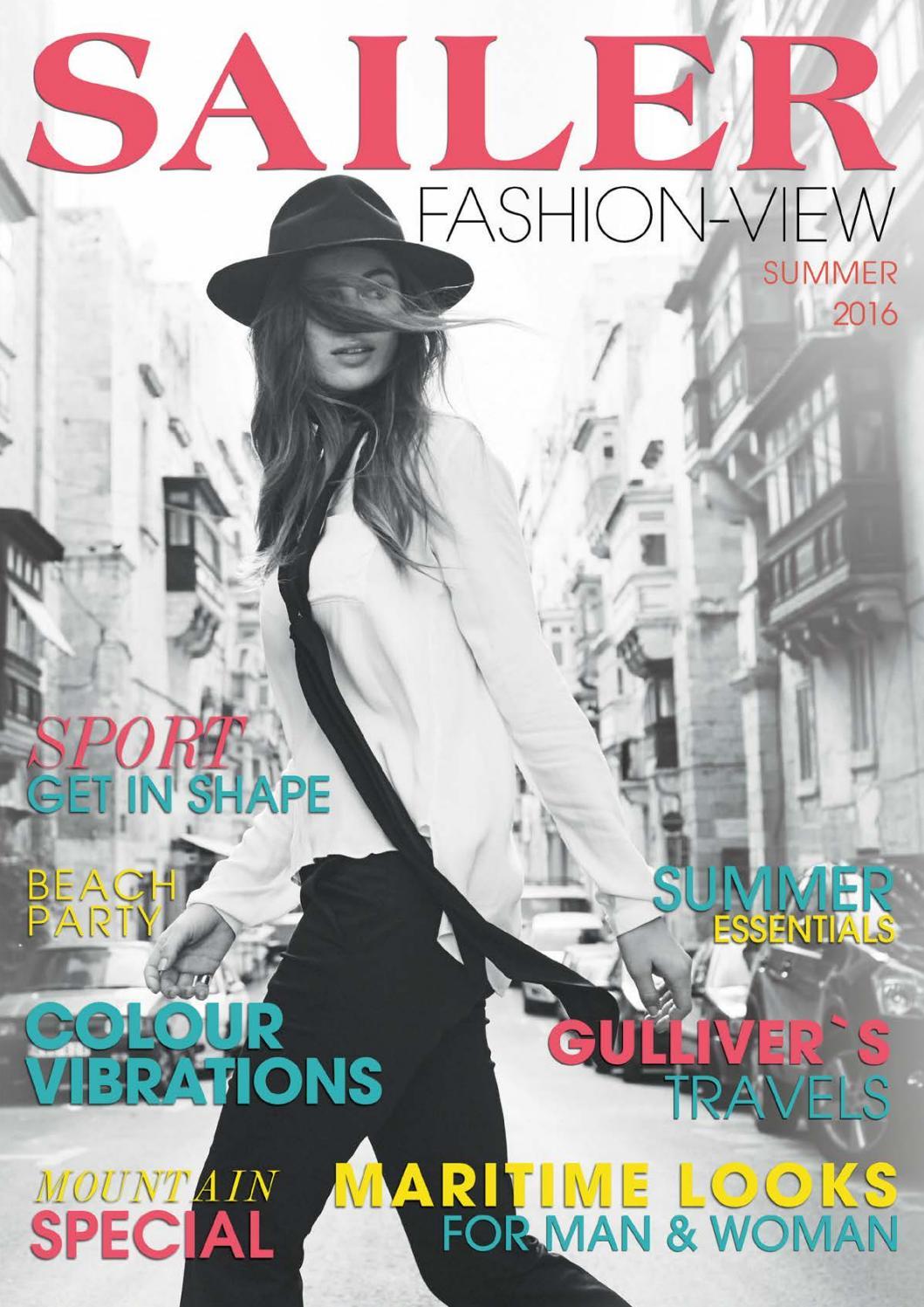SAILER Fashion View Ausgabe IV Sommer 2016 by SAILERstyle