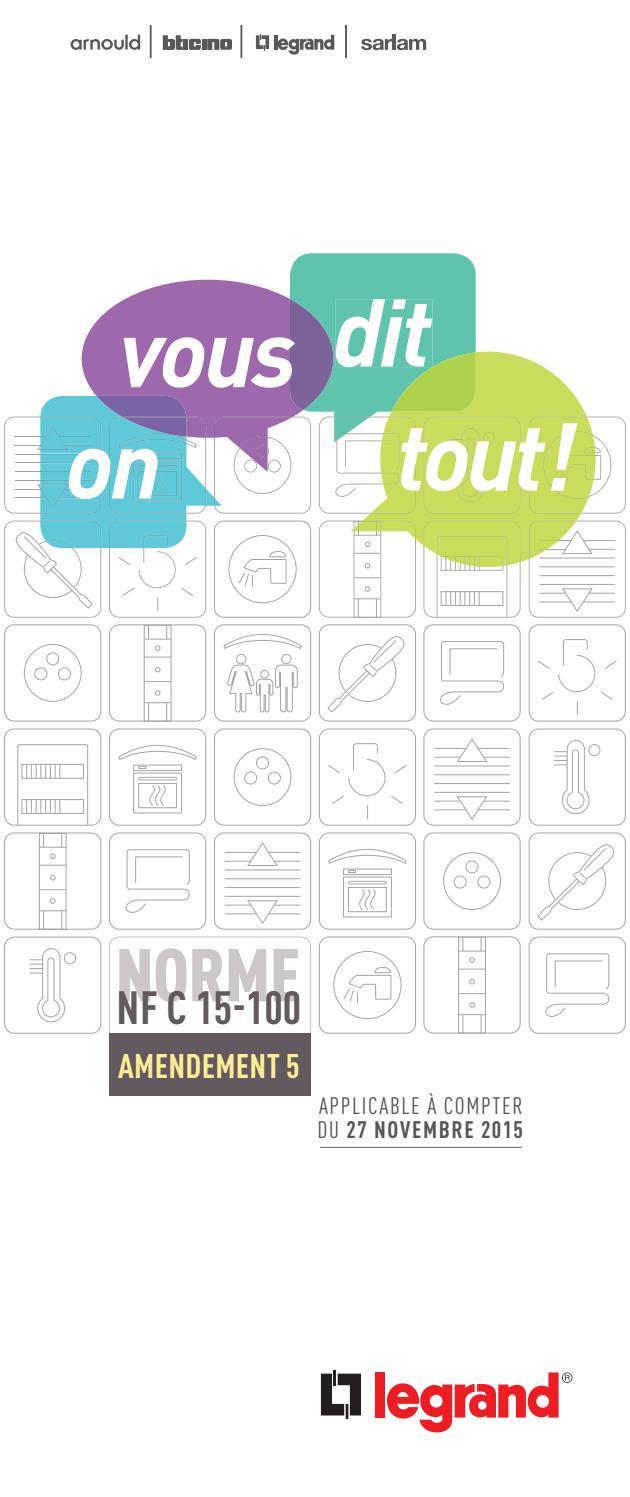 NORME 15-100 TÉLÉCHARGER LEGRAND NFC