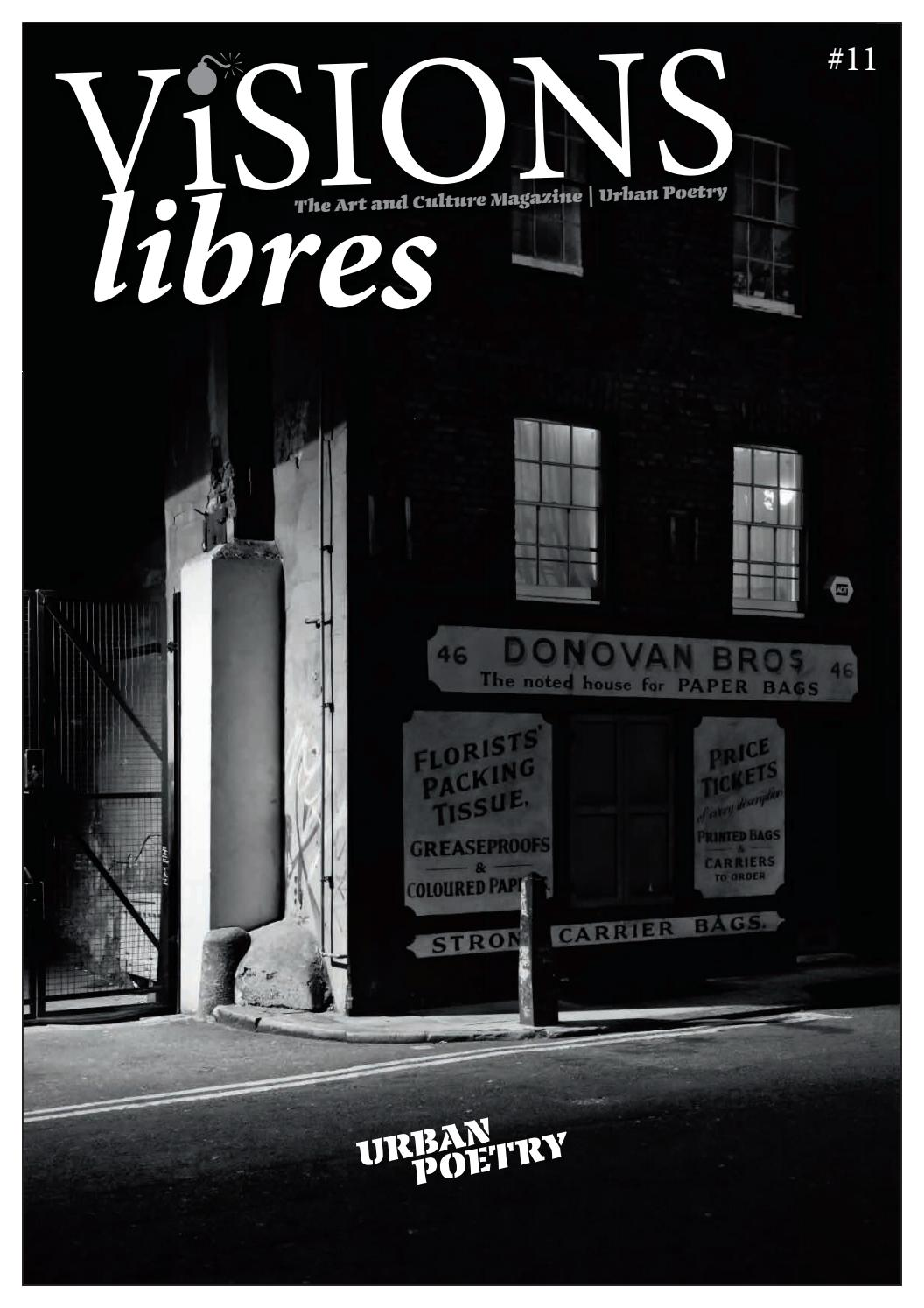 Visions Libres Urban Poetry By Louisa Dawn / Visions Libres   Issuu