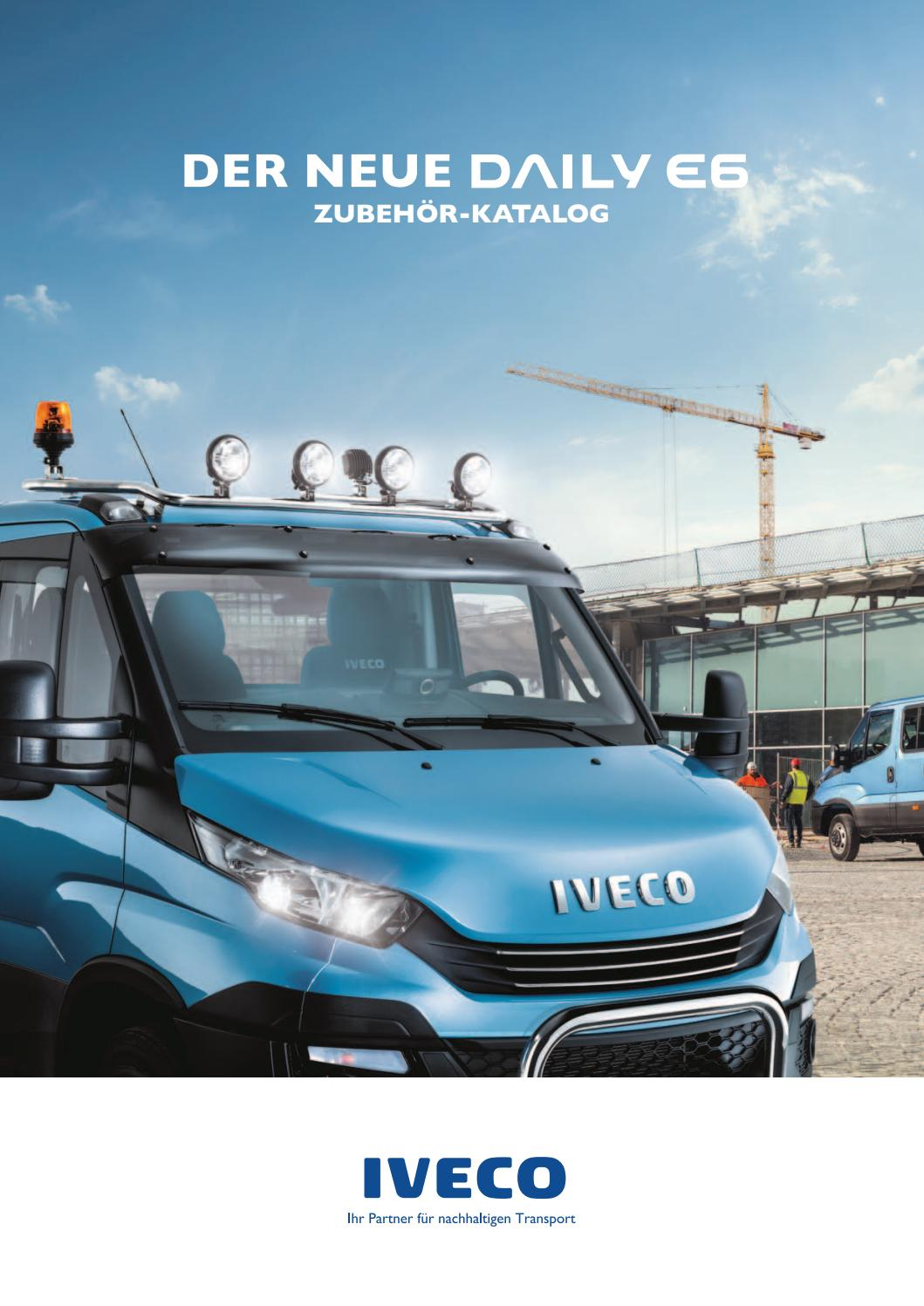 der neue daily euro 6 zubeh r katalog by iveco issuu. Black Bedroom Furniture Sets. Home Design Ideas