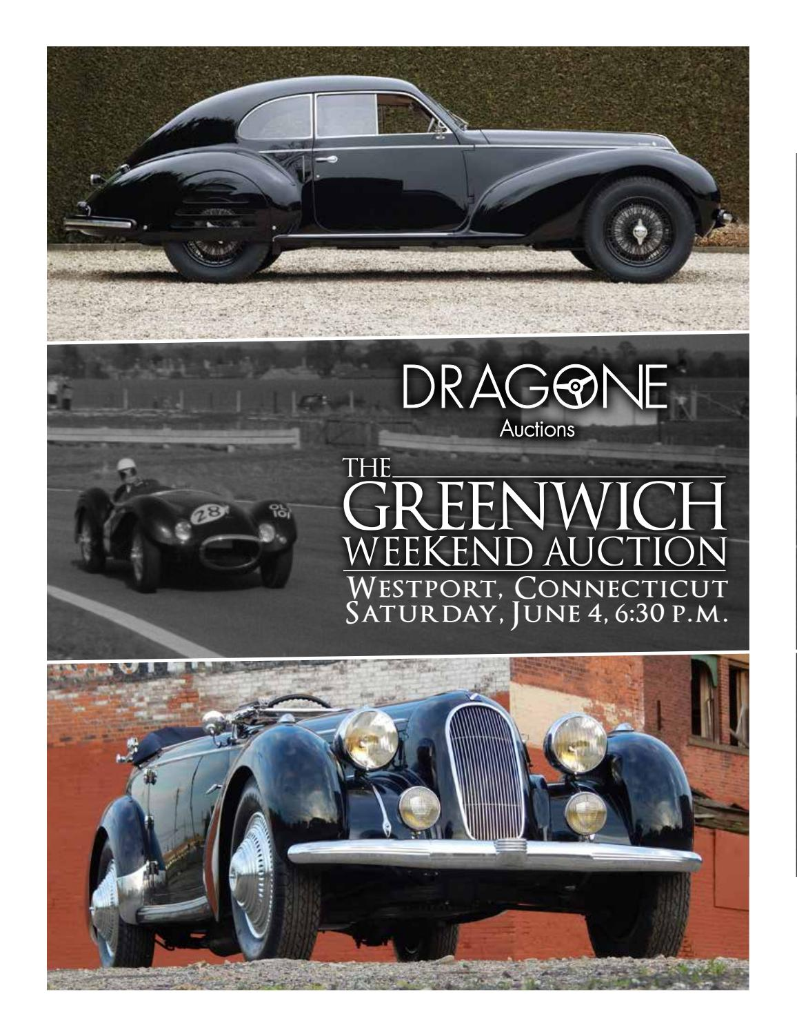 Dragones Greenwich Weekend Auction 2016 Catalog By Dragone Auctions