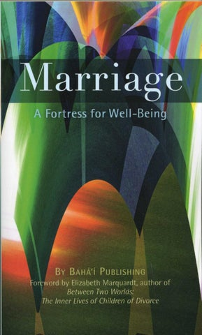 Marriage a fortress for well being by bahaibookstore issuu page 1 fandeluxe Choice Image