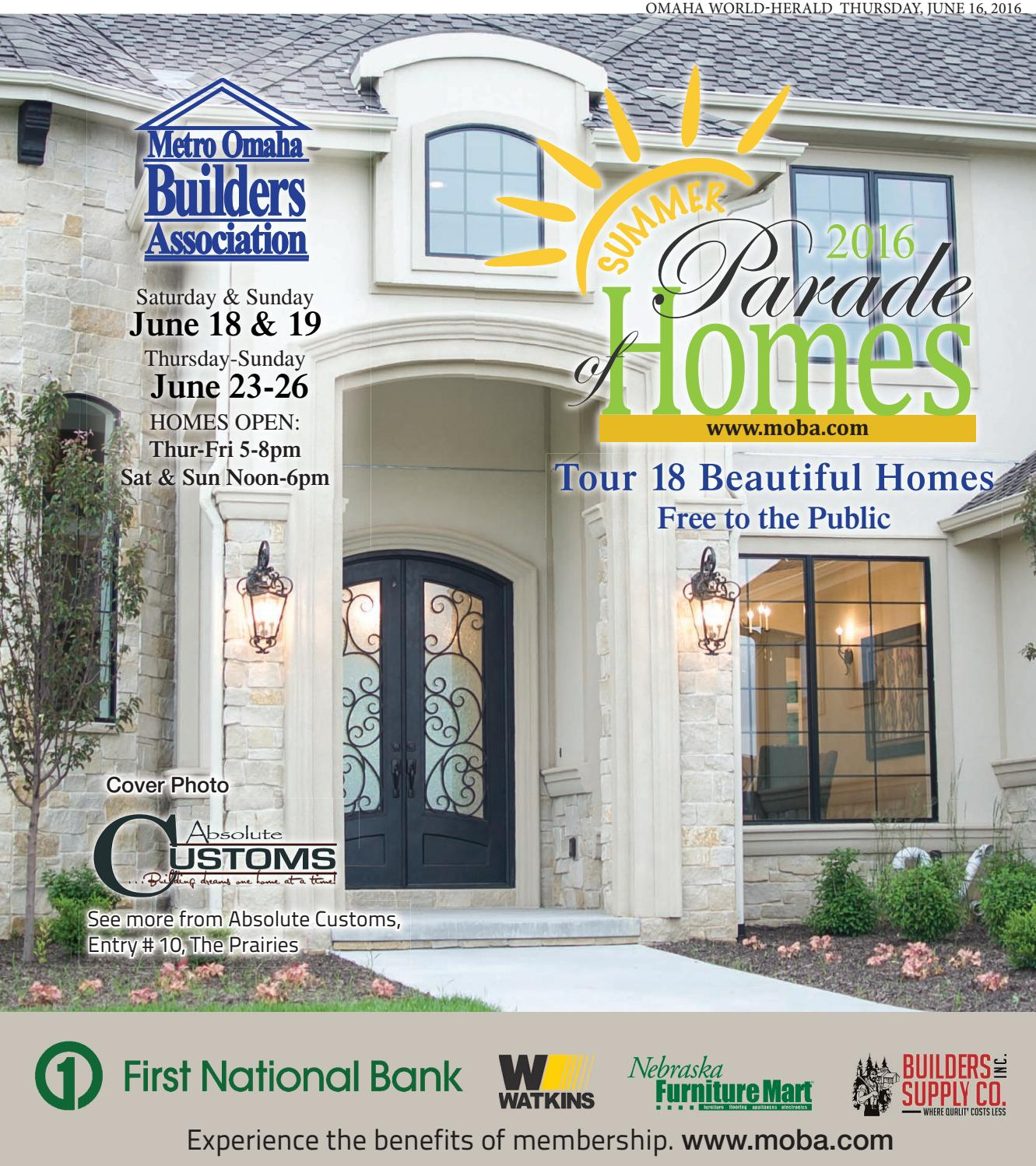 Summer Kitchen Omaha: 2016 Summer Parade Of Homes By Omaha World-Herald