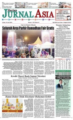 Harian Jurnal Asia Edisi Jumat 10 Juni 2016 By Harian Jurnal Asia Medan Issuu