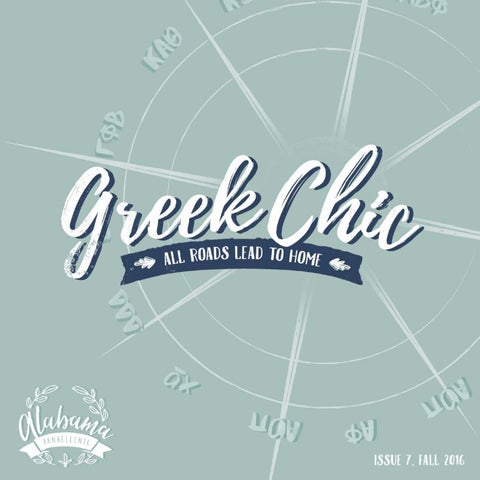 fc6acc17 University of Alabama Greek Chic 2016 by Alabama Panhellenic ...