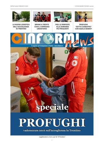 Cinformi news speciale profughi 2016 by cinformi pat - issuu