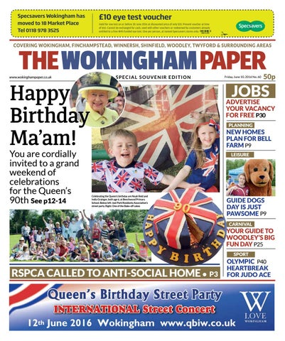 The Wokingham Paper June 10 2016 By The Wokingham Paper Issuu