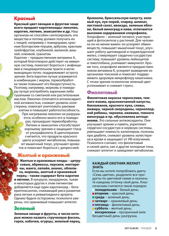 Библиотека журнала похудей диета магги