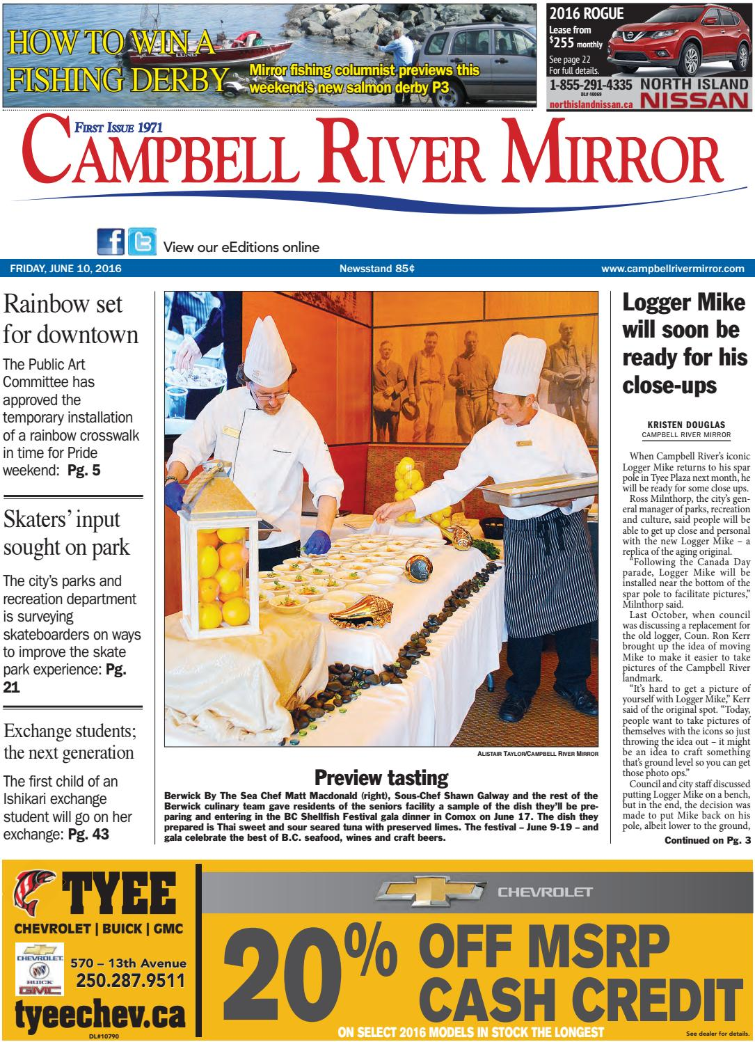 Campbell River Mirror, June 10, 2016 by Black Press - issuu 1c3dcdee69