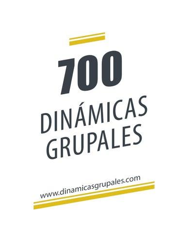 700 Dinámicas Grupales By Hans Gutierrez Issuu