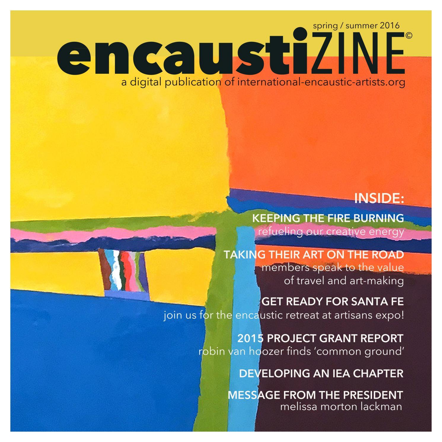 Encaustic: a selection of sites