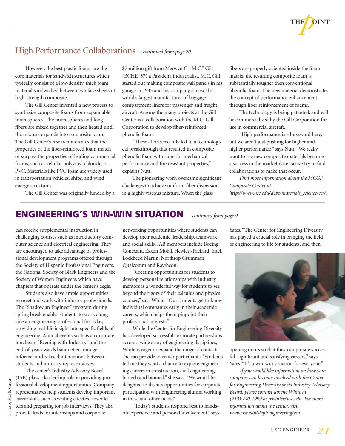 USC Viterbi Engineer Fall 2003 by University of Southern