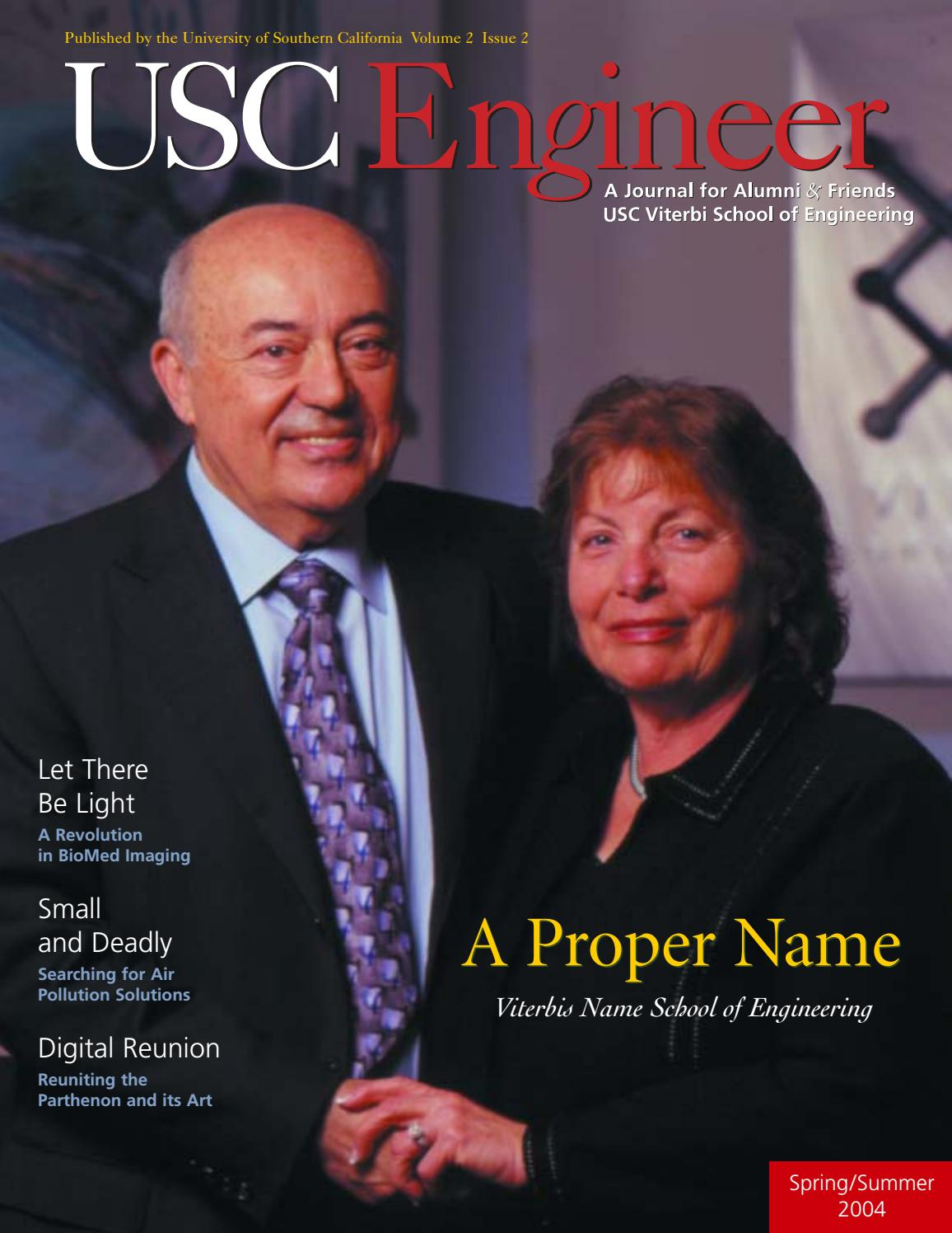 USC Viterbi Engineer Spring 2004 by University of Southern California -  issuu