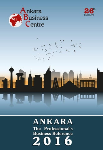 Ankara The Professional S Business Reference 2016 By Cengiz
