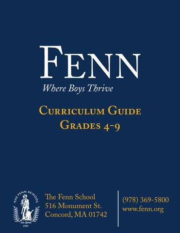 The Fenn School Curriculum Guide by The Fenn School - issuu