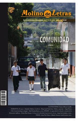 Comunidad, molino de letras by Molino Letras - issuu