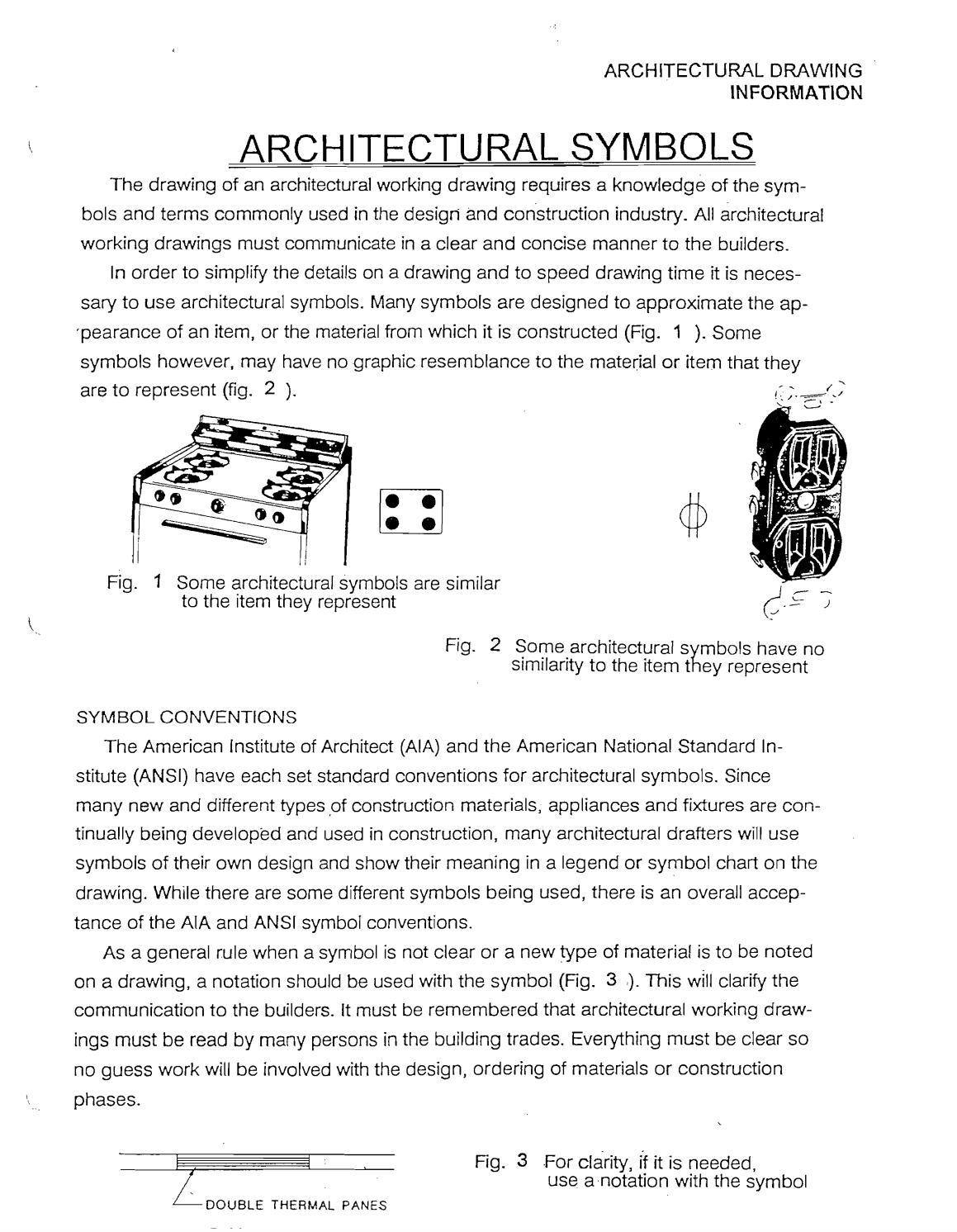 Architectural Symbols Packet By Bhavik Pithadiya Issuu