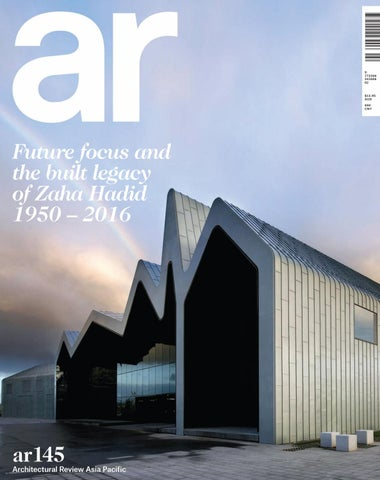 Architectural review asia pacific june july 2016 by for Architectural design review