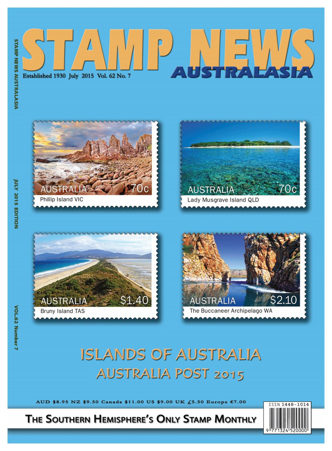 6918a94ad6 Stamp News Australasia - July 2015 by Stamp News Australasia - issuu