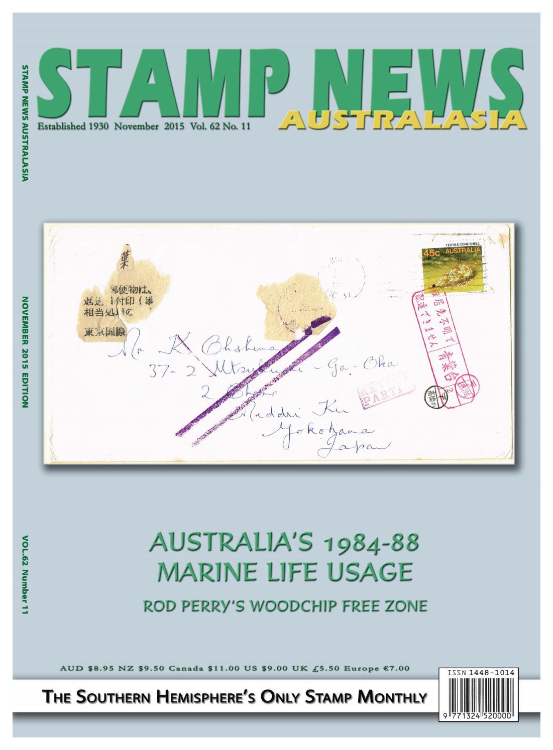 Stamp News Australasia - November 2015 by Stamp News Australasia - issuu