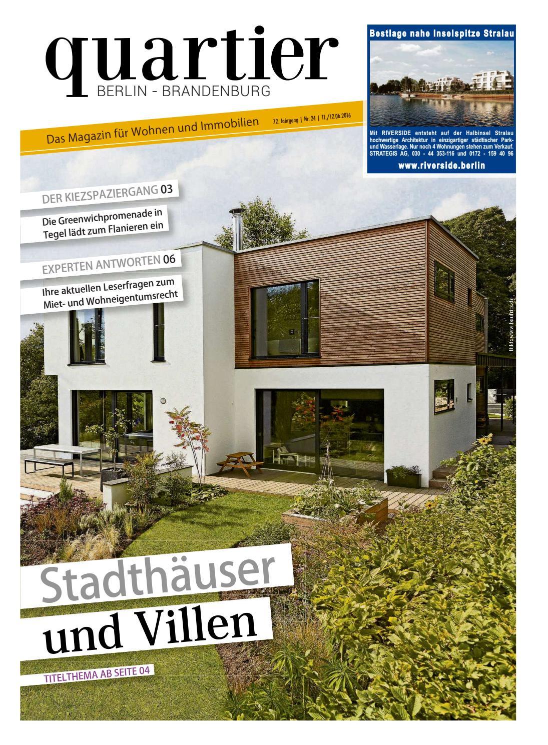quartier - Städtehäuser und Villen by Berlin Medien GmbH - issuu