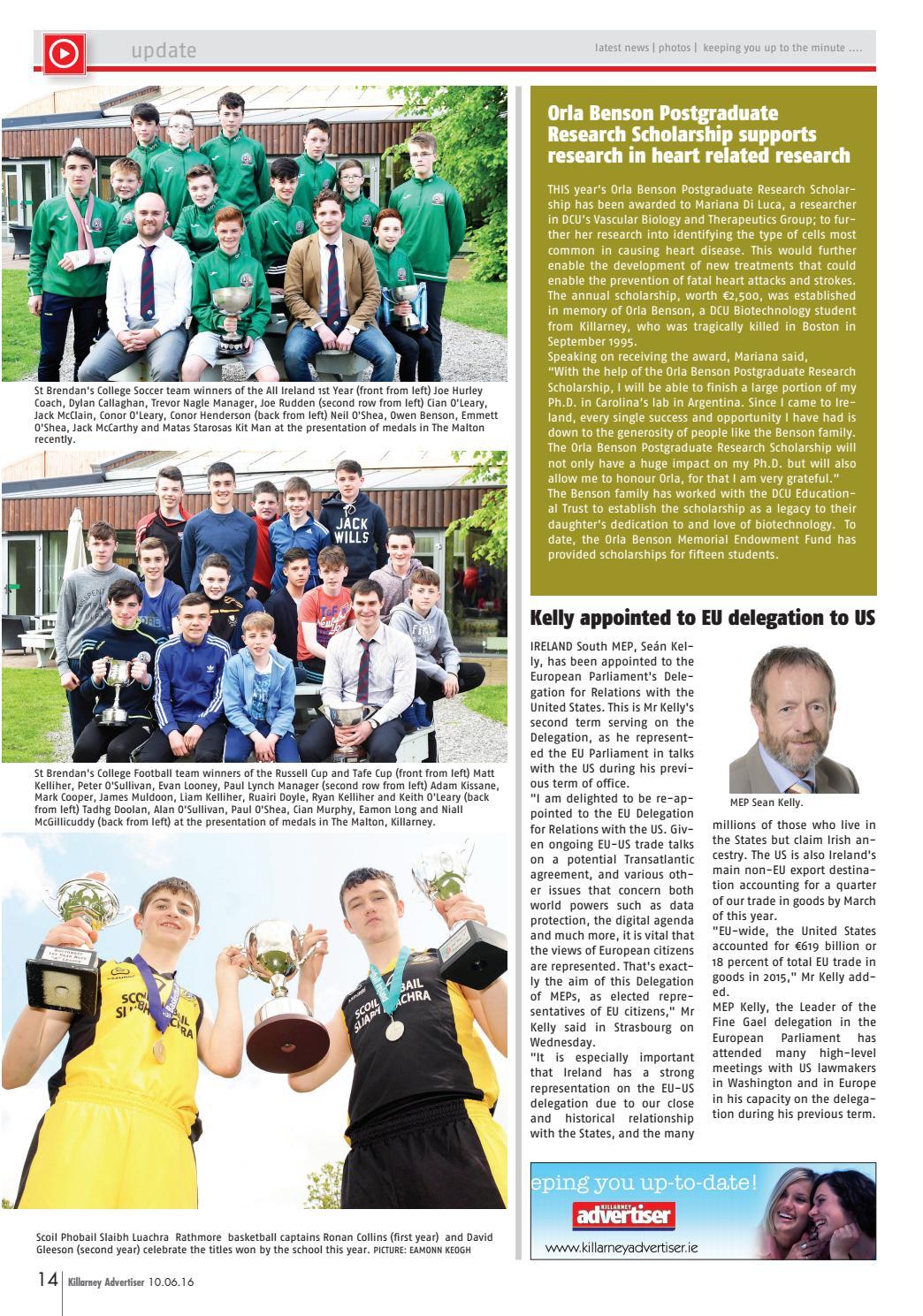 Killarney Advertiser 11th October 2019 by Killarney Advertiser