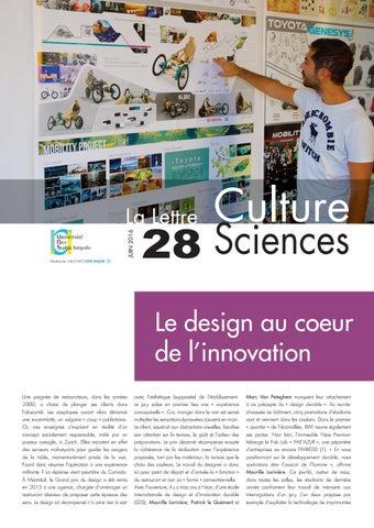 La lettre Culture Science n°28