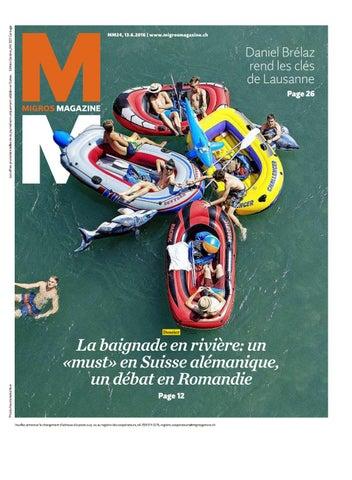 2016 by Genossenschafts magazin ge 24 Bund f Migros Migros PuTZiOkX
