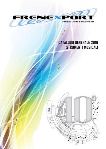29c47150fa Frenexport - Catalogo 2016 - Strumenti musicali by FRENEXPORT SPA ...