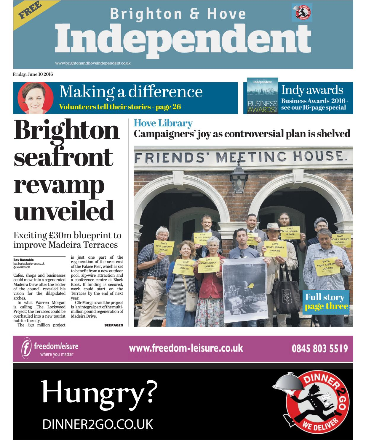 Brighton \u0026 Hove Independent - 10 June 2016 by Brighton \u0026 Hove ...