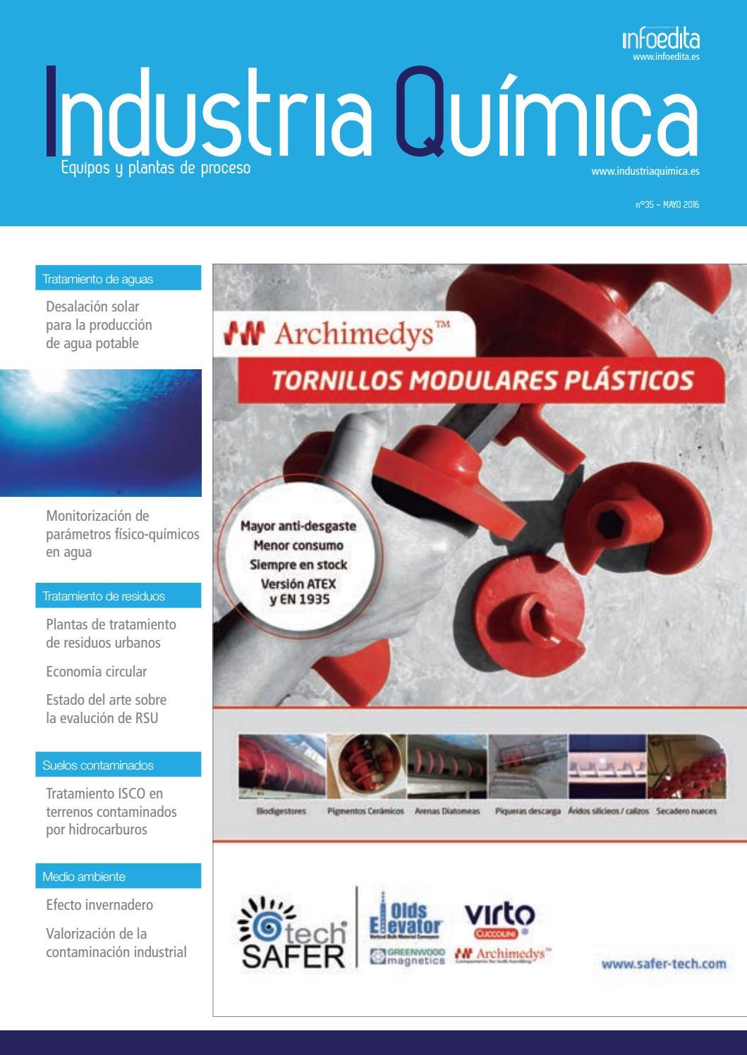 85197b758c5b Industria Química Mayo 2016 by Infoedita Comunicacion Profesional - issuu