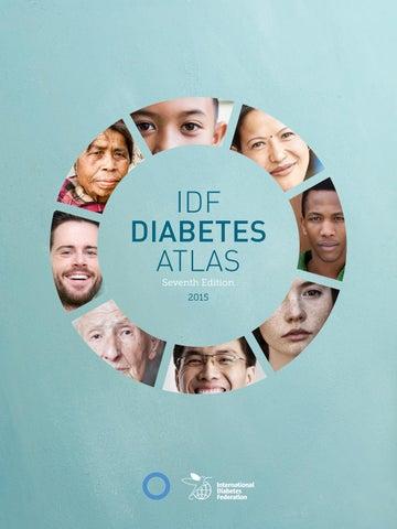 Idf Diabetes Atlas Seventh Edition 2015 By International Diabetes