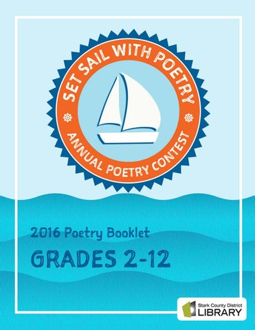 stark county district library annual poetry contest booklet grades 2