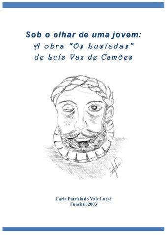 A Obra Os Lusiadas De Luis Vaz De Camoes By Carla Vale Lucas Issuu