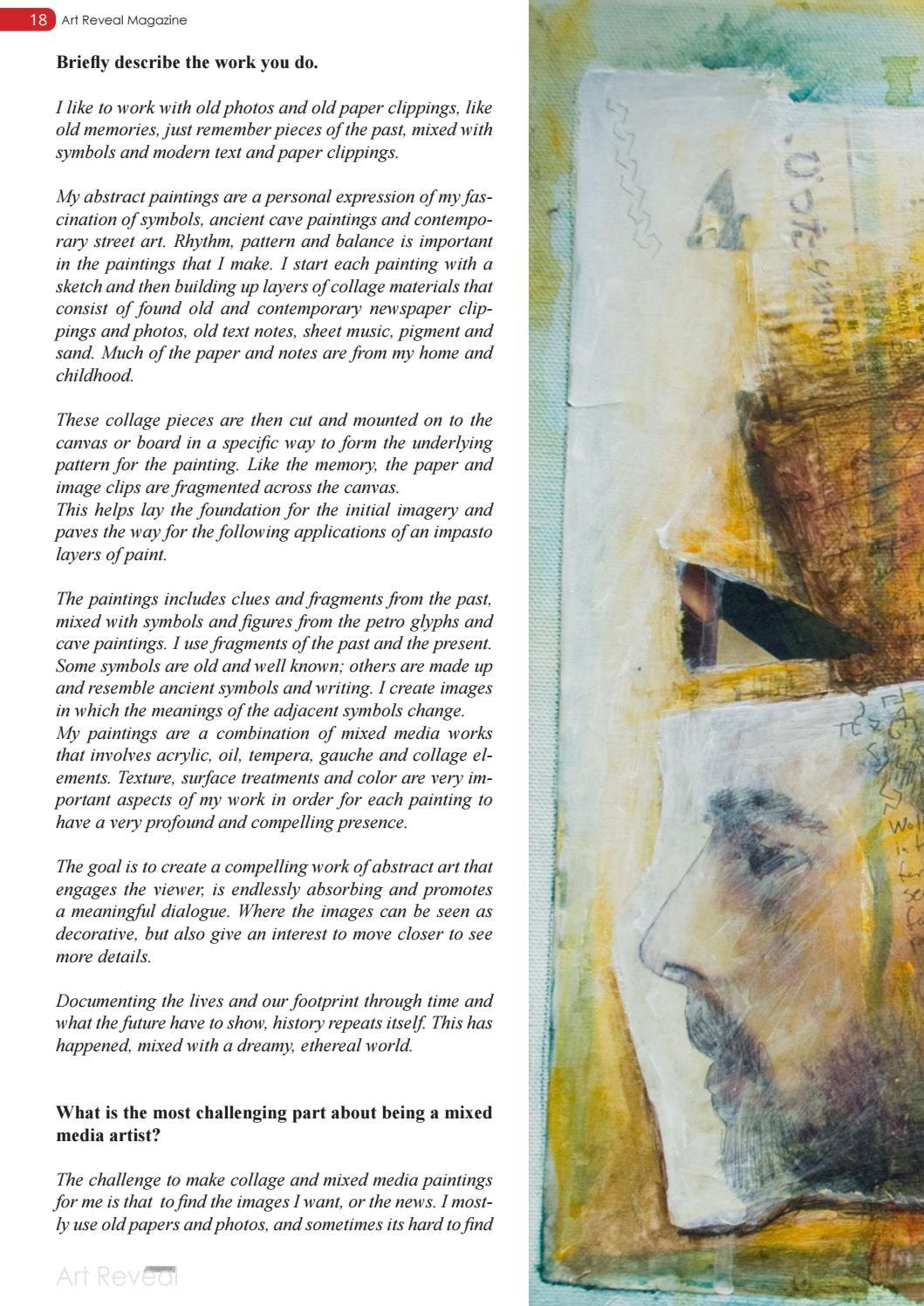 art reveal magazine no 17 by art reveal magazine issuu