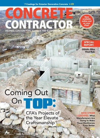 Concrete Contractor June/July 2016 by ForConstructionPros.com - issuu