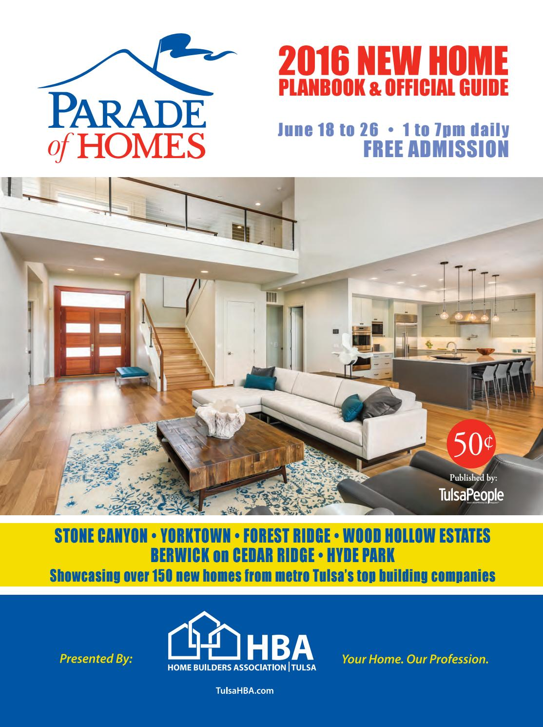 Parade Of Homes 2016 By Langdon Publishing Co