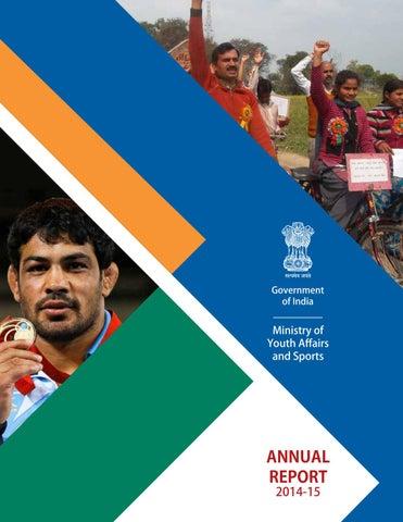 Youth Affairs   Sports Annual Report 2015 by Prof.Dr.Dibendu Nag - issuu 3500fa0c5