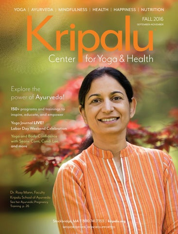 297fd223d35 Kripalu Fall 2016 Catalog by Kripalu Center for Yoga   Health - issuu