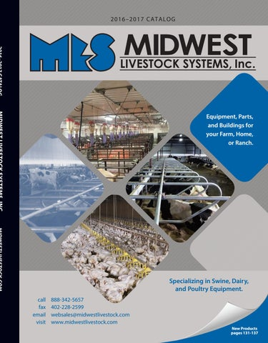 Midwest Livestock 2016 catalog by Midwest Livestock Systems ... on