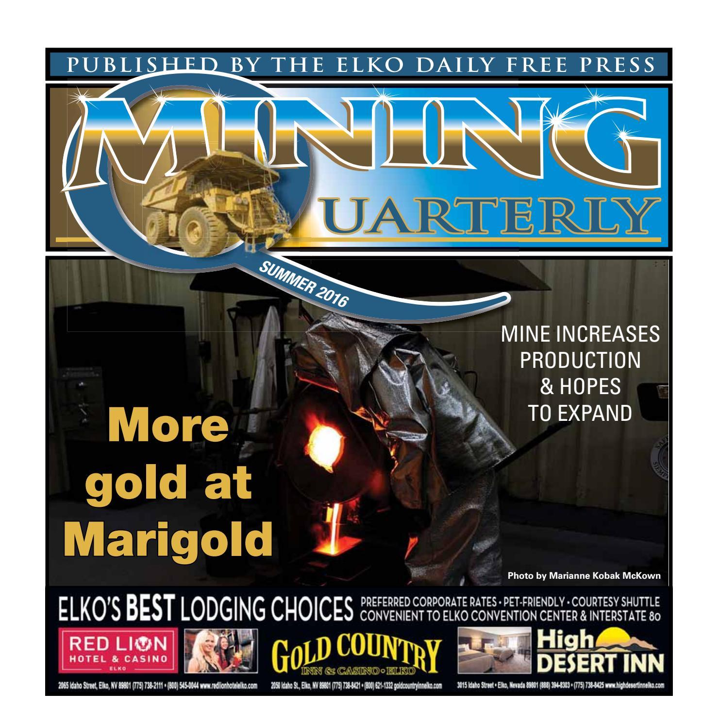 Mining Quarterly Fall 2013 edition by Elko Daily issuu