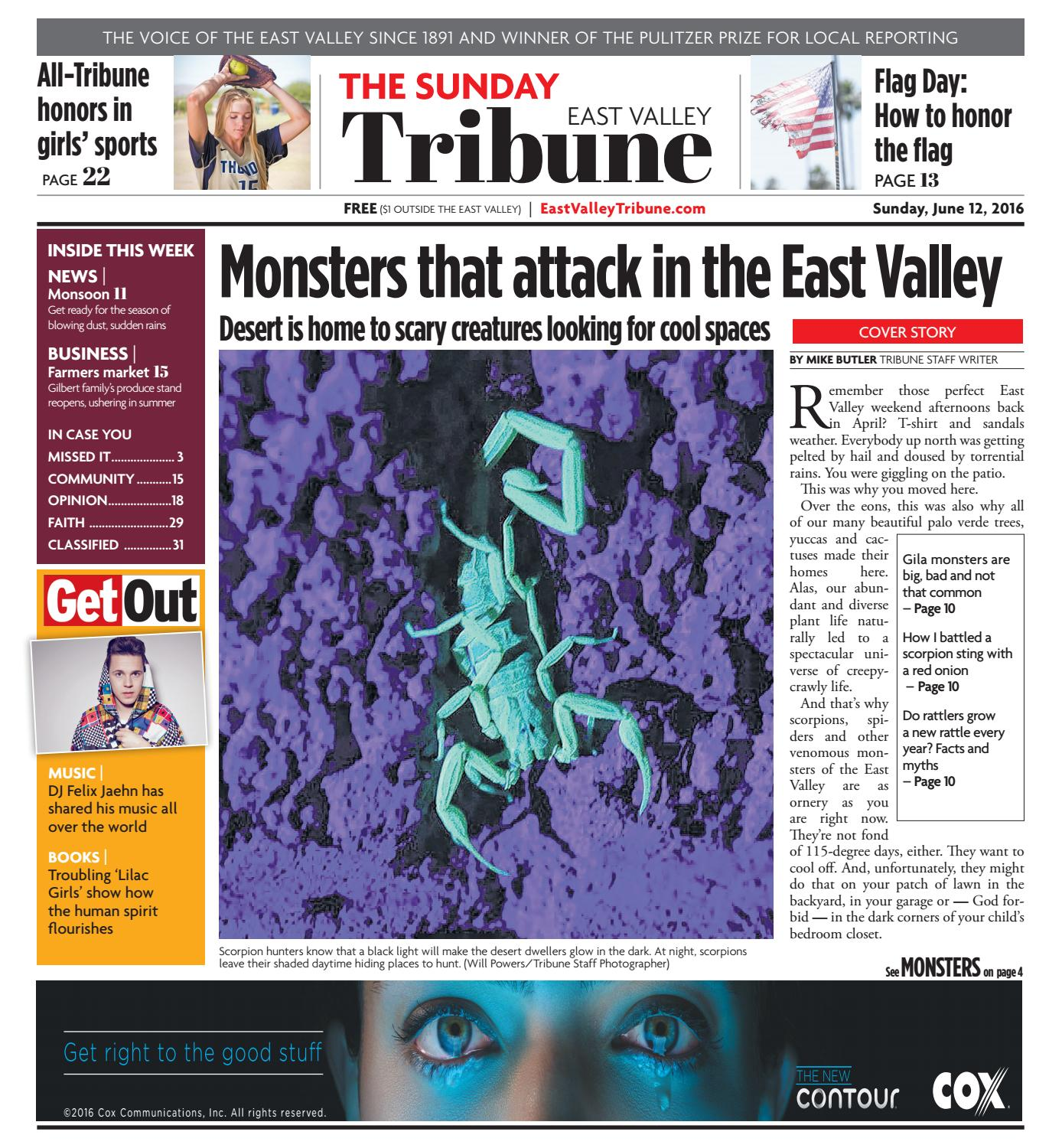 East Valley Tribune June 12 2016 by Times Media Group issuu