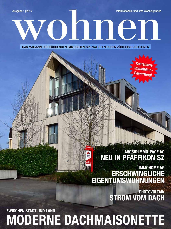 Wohnen 1 2016 By Armin Doetzkies   Issuu