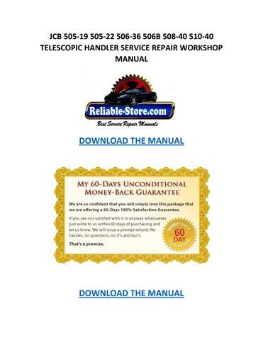 Jcb 506b manual manual download array jcb 505 19 505 22 506 36 506b 508 40 510 40 telescopic handler fandeluxe Image collections